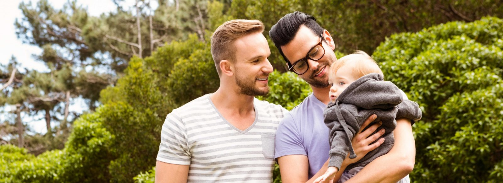 Rainbow family using surrogacy